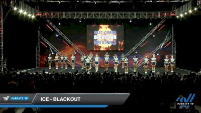 ICE - Blackout [2020 L6 International Open - NT - Coed Day 1] 2020 GLCC: The Showdown Grand Nationals