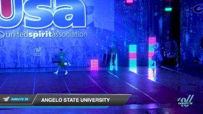 Angelo State University [2019 Mascot Day 1] 2019 USA Collegiate Championships