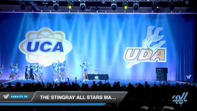 The Stingray All Stars Marietta - Royal [2018 Junior Restricted 5 Day 2] 2018 UCA Smoky Mountain Championship