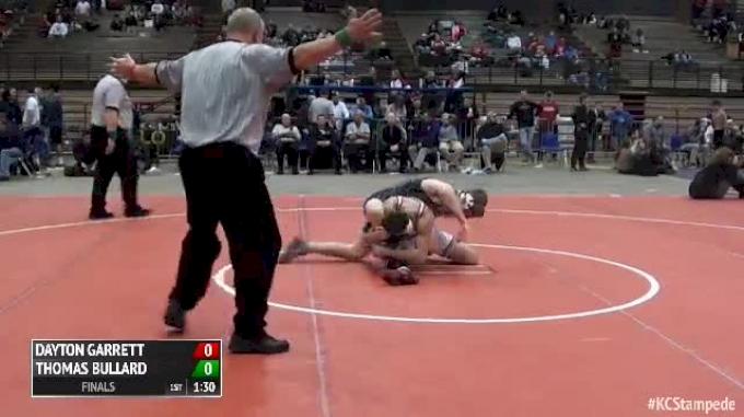 160 Finals Thomas Bullard Archer Vs Dayton Garrett Tuttle