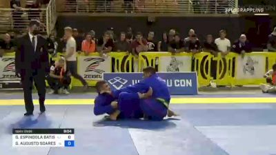 GUSTAVO ESPINDOLA BATISTA vs GUILHERME AUGUSTO SOARES SANTOS 2021 Pan Jiu-Jitsu IBJJF Championship