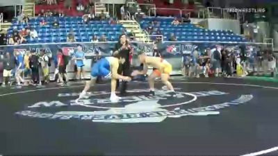 195 lbs Round Of 32 - Rylan Rogers, Washington vs Ryan Arrington, California