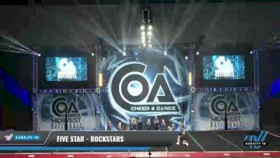 Five Star - Rockstars [2021 L2 Mini - Small Day 2] 2021 COA: Midwest National Championship