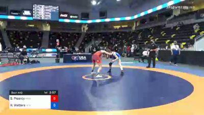 68 kg Prelims - Solin Piearcy, Menlo Wrestling Club vs Rachel Watters, New York Athletic Club