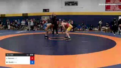 97 kg Round Of 16 - Jaden Sonner, Indiana vs Morgan Smith, Ohio Regional Training Center