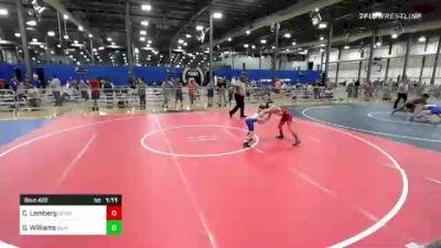 65 lbs Rr Rnd 3 - Cole Lemberg, Demolition Wrestling Club vs Garrett Williams, Summit Wrestling Academy
