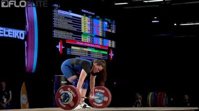 Marissa Klingseis (USA, 90) Clean & Jerks 134 At 2017 IWF Worlds