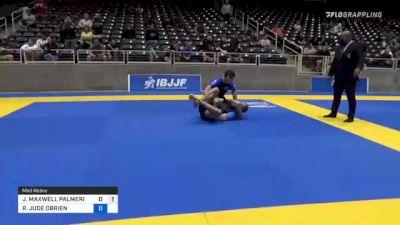 H. RAZA vs N.P. MANCINI 2021 World IBJJF Jiu-Jitsu No-Gi Championship