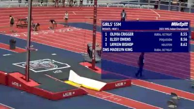 High School Girls' 55m, Finals 2