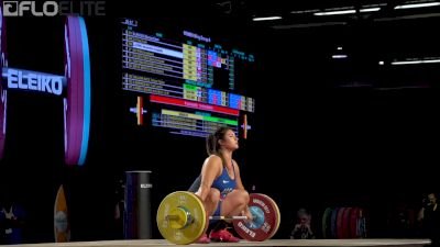 Ali Ludwig (USA, 90) Snatches 103kg At 2017 Worlds