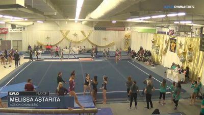 Melissa Astarita - Floor, Action Gymnastic - 2018 Parkettes Invitational