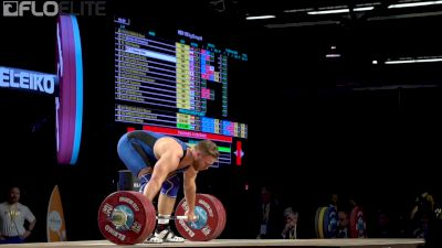 Wes Kitts (USA, 105) Sets New American Record Snatch With This 176kg Lift