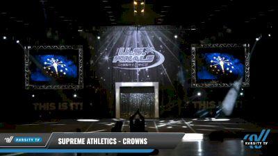 Supreme Athletics - Crowns [2021 L2.2 Mini - PREP Day 1] 2021 The U.S. Finals: Louisville