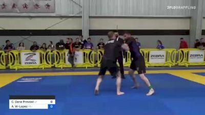 Christopher Gene Prevost vs Antonio Richard Wade-Lopez 2021 Pan IBJJF Jiu-Jitsu No-Gi Championship