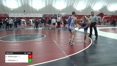 141 lbs Semifinal - Connor McGonagle, Lehigh vs Julian Chlebove, Arizona State