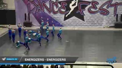 Energizers - Energizers [2021 Open Kick Day 2] 2021 Badger Championship & DanceFest Milwaukee