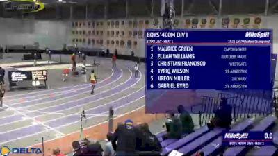 High School Boys' 400m Division 1, Finals 1