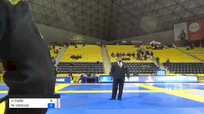 VICTOR HUGO vs MARCUS VINICIUS 2019 World Jiu-Jitsu IBJJF Championship