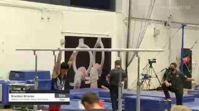 Brandon Briones - Parallel Bars, Stanford University Mens Gymnastics - 2021 Men's Olympic Team Prep Camp