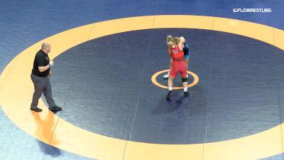 59 lbs Rr Rnd 3 - Lauren Louive, NYAC/HWC vs Michaela Beck, NYAC/HWC
