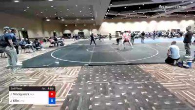 220 lbs 3rd Place - John Vinciguerra, New Jersey vs James Ellis, Lancaster Alliance Wrestling Club (LAW)