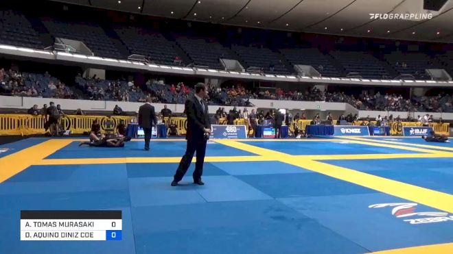 ANDY TOMAS MURASAKI PEREIRA vs DANIEL AQUINO DINIZ COELHO SANTO 2019 World IBJJF Jiu-Jitsu No-Gi Championship
