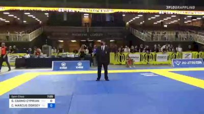 GUILHERME CARMO CYPRIANO vs COREY MARCUS DORSEY II 2021 Pan Jiu-Jitsu IBJJF Championship