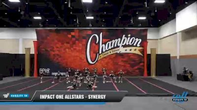 IMPACT ONE Allstars - SYNERGY [2021 L2 Youth] 2021 Wolfpack Championship