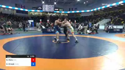 125 kg Consolation - Brandon Metz, Bison Wrestling Club vs Shawn Streck, TMWC/ Cowboy RTC
