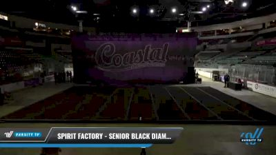 Spirit Factory - Senior Black Diamonds [2021 L4 Senior] 2021 Coastal: The Garden State Battle