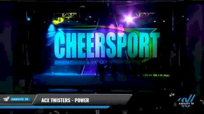 ACX Twisters - Power [2021 L3 Junior - Small - B Day 1] 2021 CHEERSPORT National Cheerleading Championship