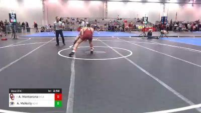 174 lbs Prelims - Anthony Mantanona, Oklahoma vs Andrew McNally, Kent State