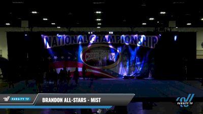 Brandon All-Stars - Mist [2021 L4.2 Senior Day 2] 2021 ACP: Tournament of Champions