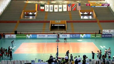 Full Replay - 2019 NORCECA Womens XVIII Pan-American Cup - Group A - Jul 9, 2019 at 3:57 PM CDT