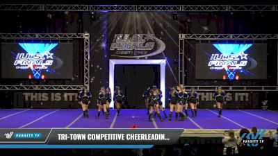 Tri-Town Competitive Cheerleading - Lady Lightning [2021 L3 Performance Recreation - 18 and Younger (NON) - Large Day 1] 2021 The U.S. Finals: Ocean City