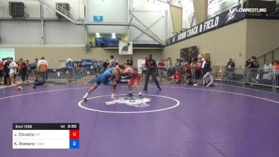 79 kg Consi Of 8 #2 - Jacob Covaciu, Indiana vs Kaleb Romero, TMWC/Ohio RTC