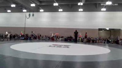 70 kg Quarterfinal - Angelica Serratos, CA vs Alexa Thomas, WI
