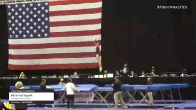 Katerina Vapnik - Individual Trampoline, Tornado Sport Club - 2021 USA Gymnastics Championships