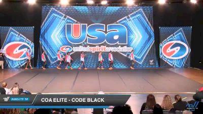 COA Elite - Code Black [2019 Open Coed Hip Hop Day 2] 2019 USA All Star Championships