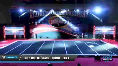 Step One All Stars - North - Fan 4 [2021 L4 - U17 Coed Day 2] 2021 ACP: Midwest World Bid National Championship