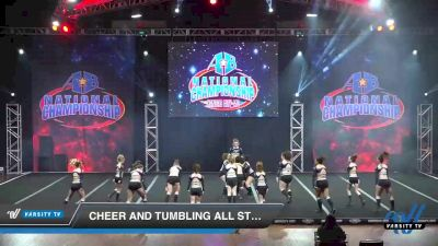 Cheer and Tumbling All Stars - Jaguars [2019 Senior - D2 - Small 2 Day 2] 2019 America's Best National Championship