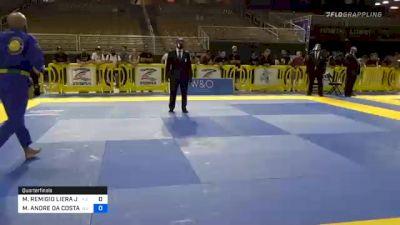 MICHAEL REMIGIO LIERA JR. vs MARCIO ANDRE DA COSTA BARBOSA JU 2020 Pan Jiu-Jitsu IBJJF Championship
