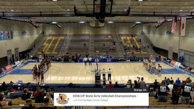 Los Altos vs Village Christian - 2018 Girls California State Volleyball Championships