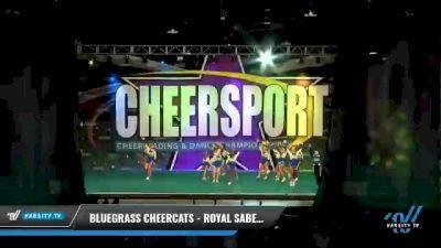Bluegrass Cheercats - Royal Sabers [2021 L5 Senior Coed - D2 - Small Day 2] 2021 CHEERSPORT National Cheerleading Championship
