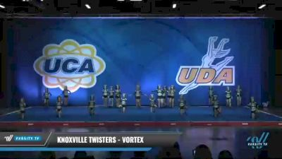 Knoxville Twisters - Vortex [2020 L4 Senior - Medium Day 2] 2020 UCA Smoky Mountain Championship