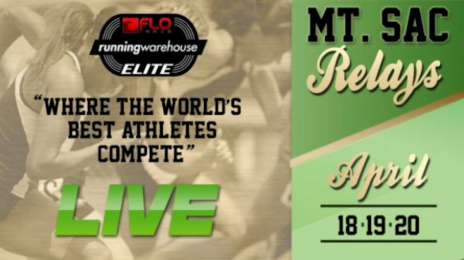 2013 Mt. SAC Relays To Be Streamed Live on Flotrack