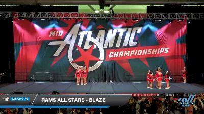RAMS All Stars - BLAZE [2020 L3 Junior - D2 Day 1] 2020 Mid-Atlantic Championships