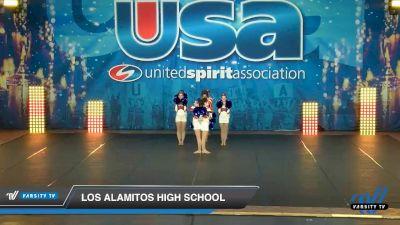 Los Alamitos High School [2020 Small JV Song/Pom Advanced (5-9) Day 3] 2020 USA Spirit Nationals