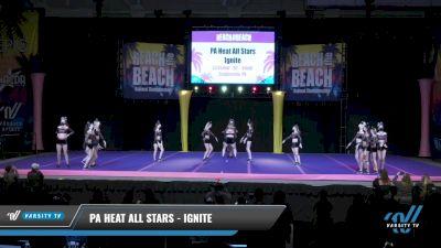 PA Heat All Stars - Ignite [2021 L3 Senior - Small Day 2] 2021 ACDA: Reach The Beach Nationals