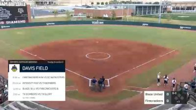 Blaze United vs. Firecrackers - 2020 Bombers Exposure Weekend - Davis Diamond - Pool Play